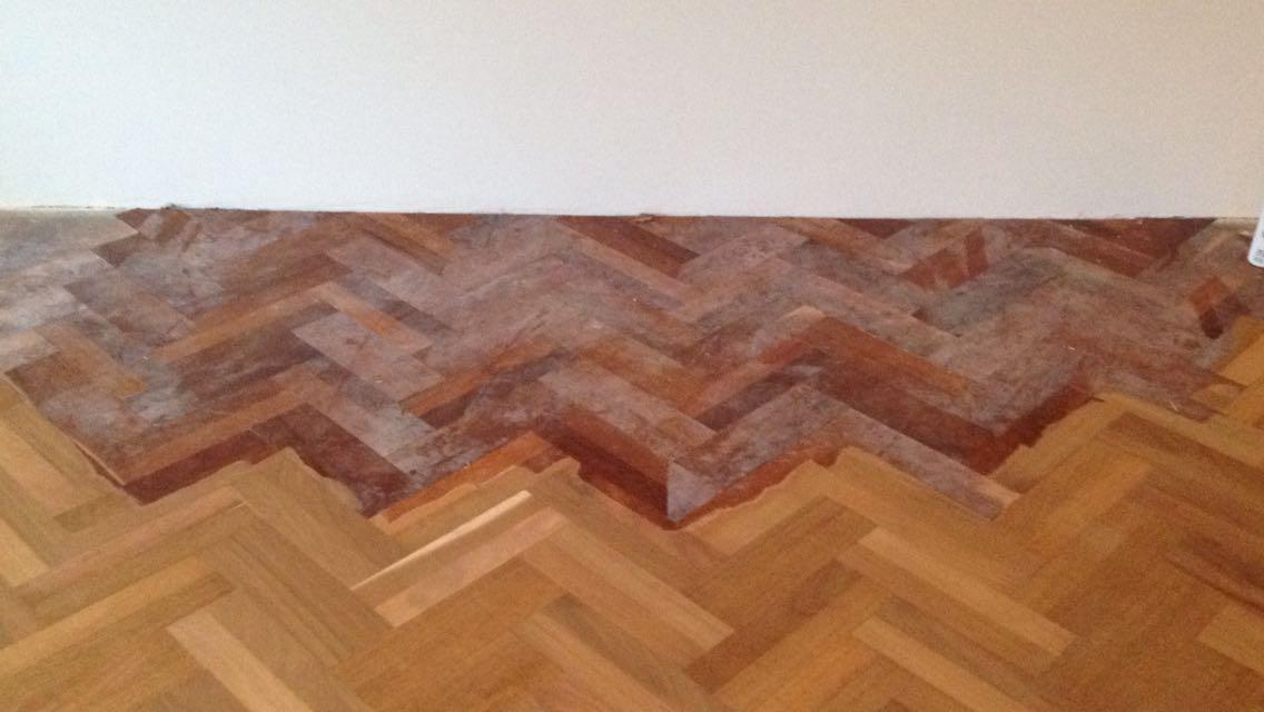 Wat te doen bij vlekken in je houten vloer? parket & interieur